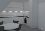 Køkken rendering #1
