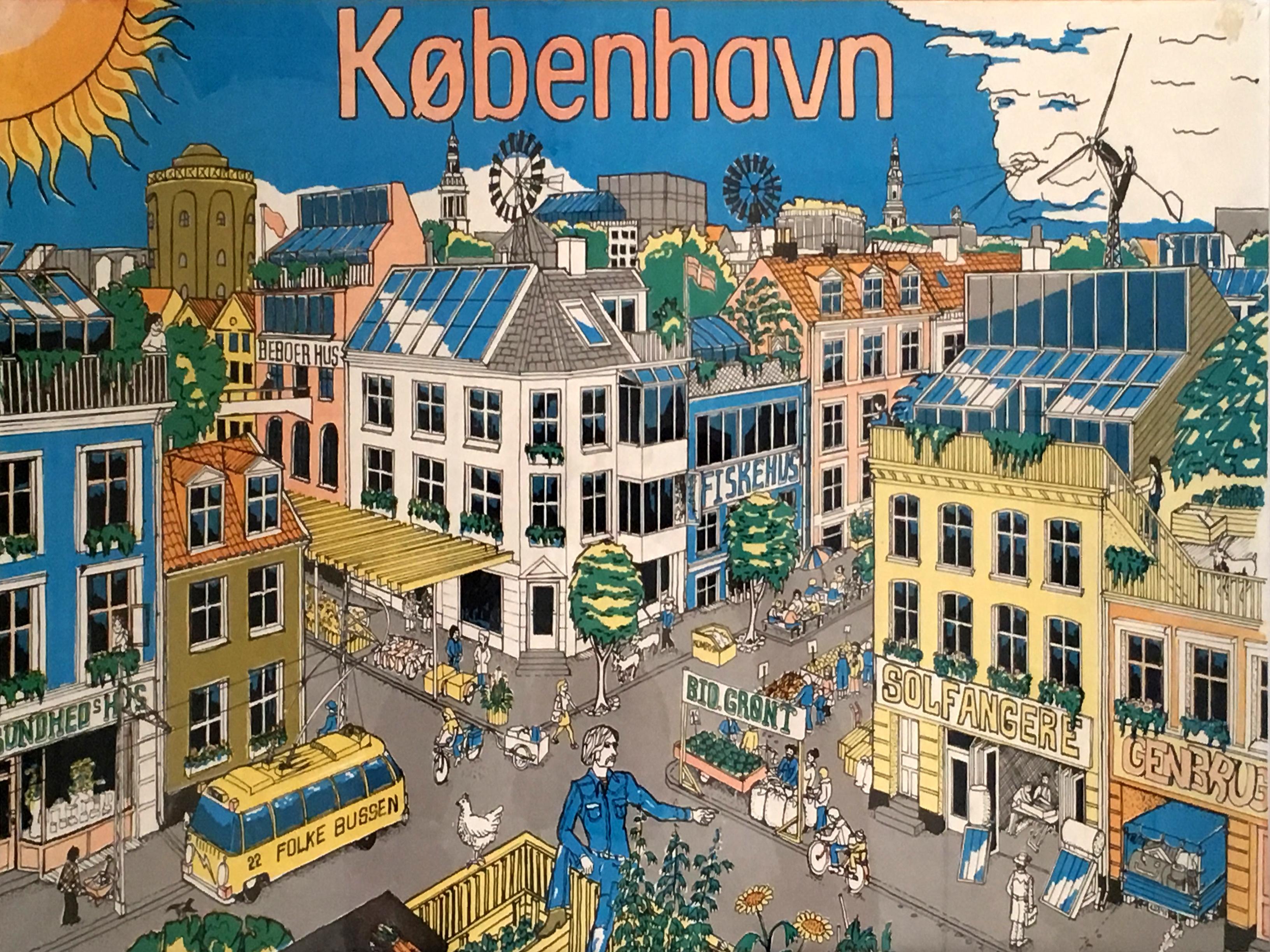 Fremtidens København anno 1970 byfornyelse