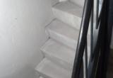 Ny støbt trappe til kælder