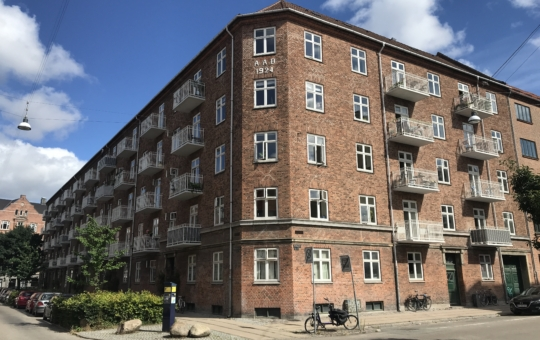Julius Bloms Gade 28 altaner